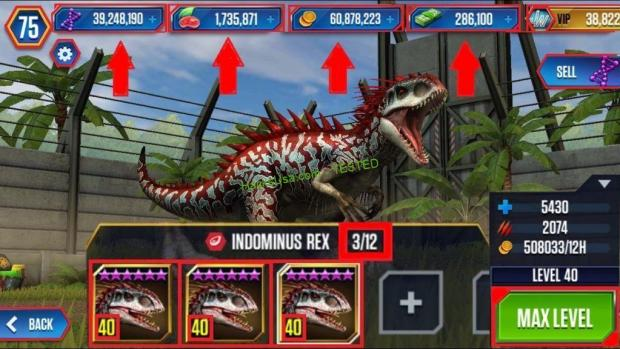 Jurassic World The Game Hack Food, Unlimited Coins, Unlimited DNA 2