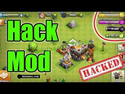 Clash of Clans Hack Gems, Gold and Elixir