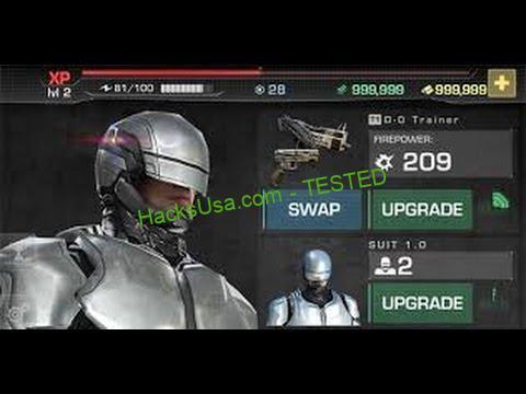 RoboCop Hack Gold Add Unlimited Credits