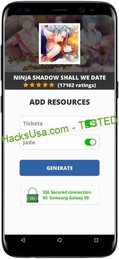 Ninja Shadow Shall We Date MOD APK Unlimited Tickets Jade