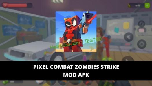 Pixel Combat Zombies Strike Featured Cover