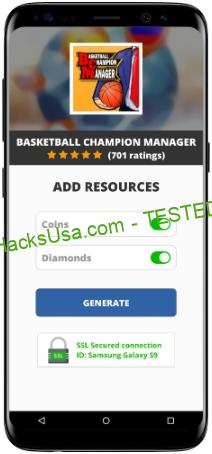 Basketball Champion Manager MOD APK Unlimited Coins Diamonds