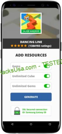 Dancing Line MOD APK Unlimited Gems Cube