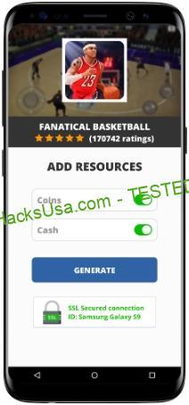 Fanatical Basketball MOD APK Unlimited Coins Cash
