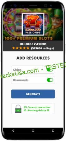 Huuuge Casino MOD APK Unlimited Chips Diamonds