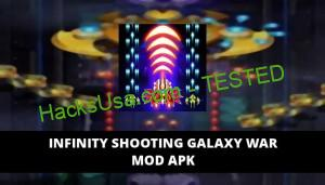 Infinity Shooting Galaxy War Featured Cover