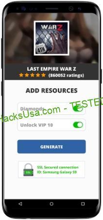 Last Empire War Z MOD APK Unlimited Diamonds Unlock VIP 10