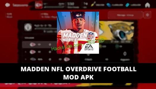 Madden NFL Overdrive Football Featured Cover