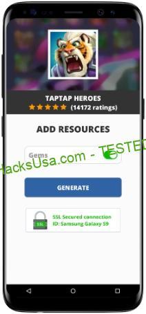Taptap Heroes MOD APK Unlimited Gems