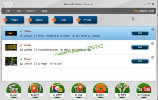 Freemake Video Converter Key for FREE
