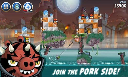 Angry Birds Star Wars 2 screenshot 2