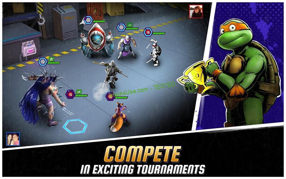 Ninja Turtles: Legends (MOD, Money/Bucks/Pizzas) 3