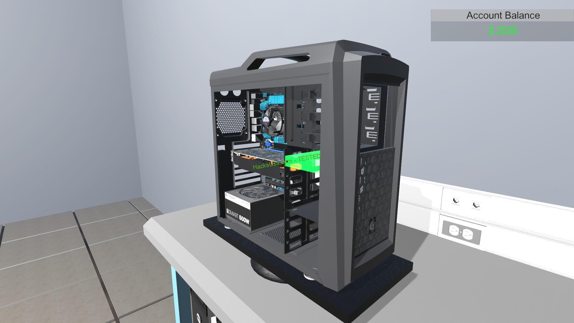 PC BUILDING SIMULATOR DOWNLOAD FREE PC + CRACK
