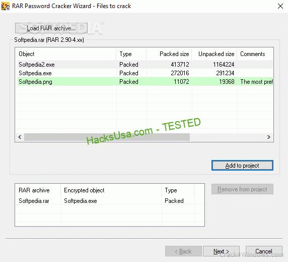 RAR Password Cracker 4.44 Crack + Activator