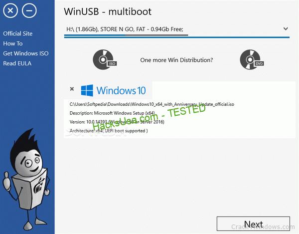 WinUSB 3.7.0.1 Crack & Serial Key