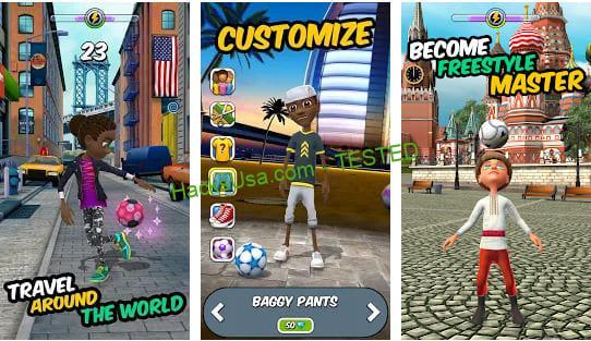 Kickerinho World Mod Apk