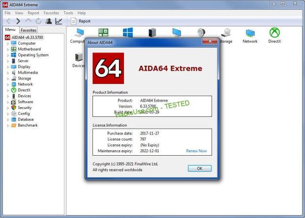 AIDA64 6.33.5700 All Editions (x32/x64)[Multi][Full] + Portable