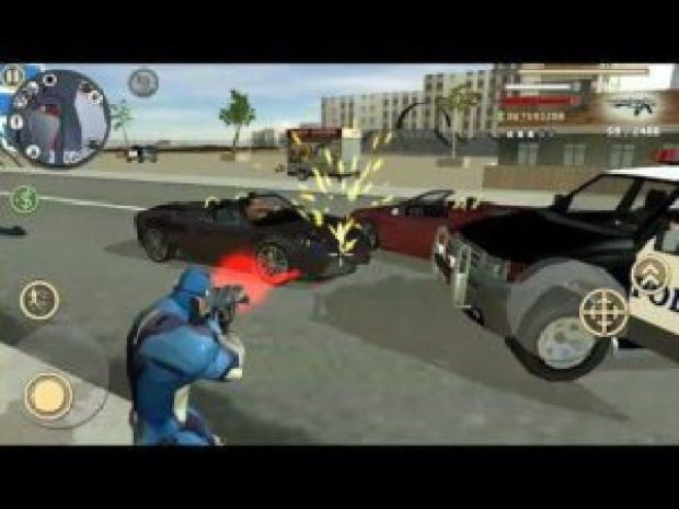 Rope hero: vice town Gameplay