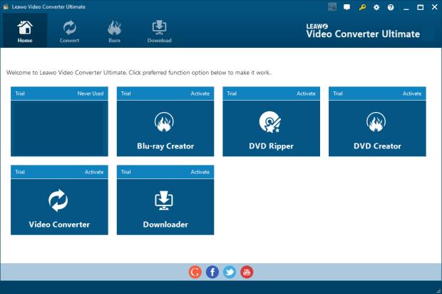 Leawo Video Converter Ultimate 8 Crack convert DVD and video to more than 180 formats like AVI, MP4, WMV, FLV, RMVB