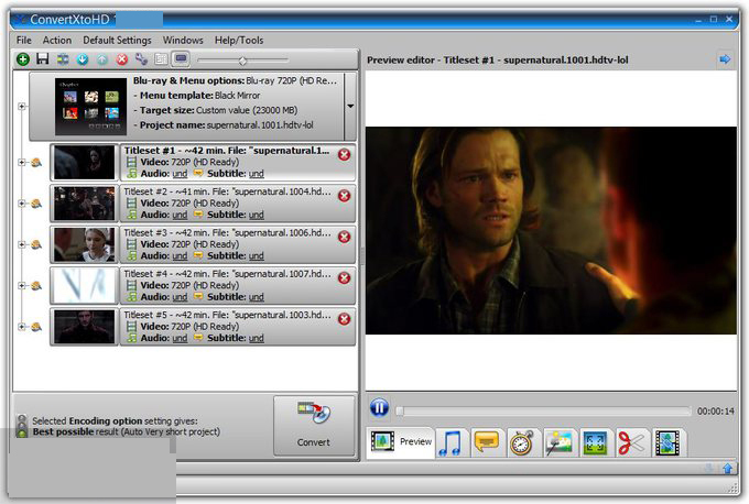 VSO ConvertXtoHD 3.0 Crack convert your HD videos