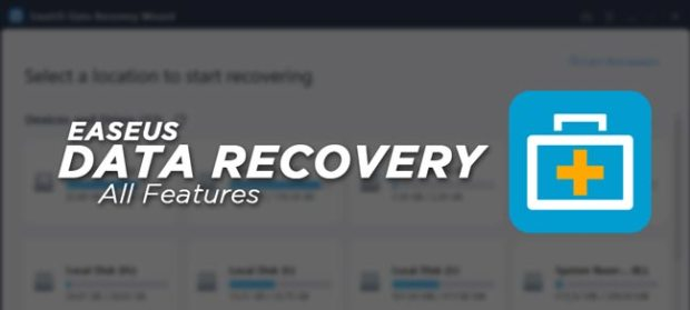 EaseUS Data Recovery Crack Full Features