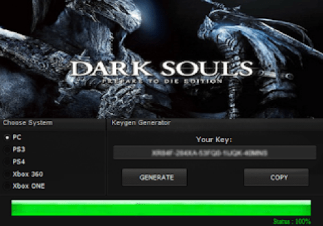 DARK SOULS: PREPARE TO DIE EDITION KEY GENERATOR KEYGEN FOR FULL GAME + CRACK