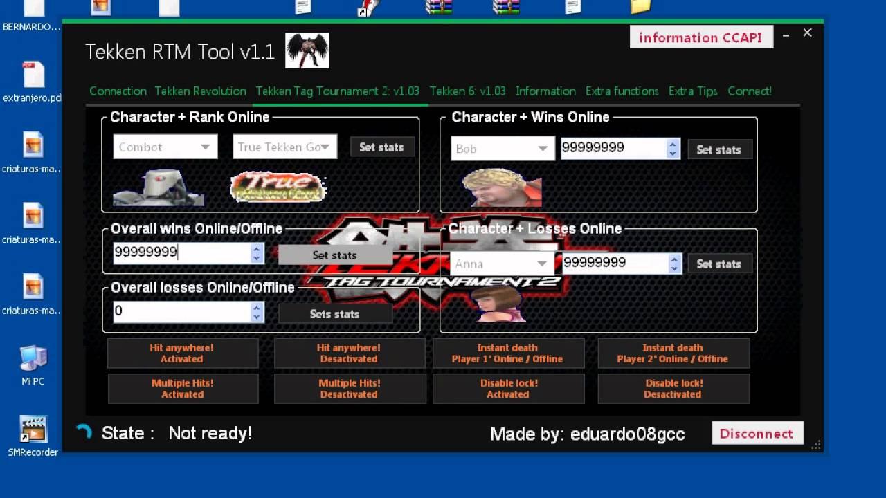 Tekken Hack services: Tekken Tag 2, Tekken Revolution, Tekken 6 , and RTM Tools! - YouTube