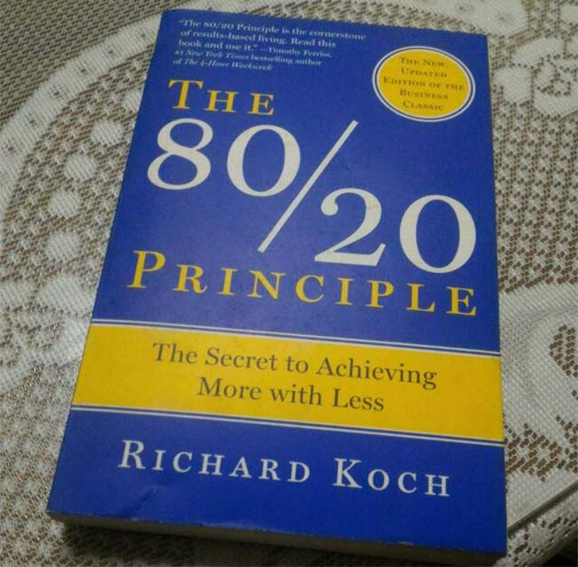 The 80-20 Principle - The Secret to Achieving More With Less by Richard Koch