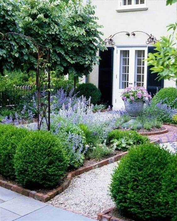 33 Small Front Garden Designs to Get the Best Out of Your ... on Small Landscape Garden Ideas id=79798