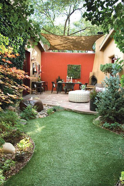 44 Small Backyard Landscape Designs to Make Yours Perfect on Small Landscape Garden Design  id=33085