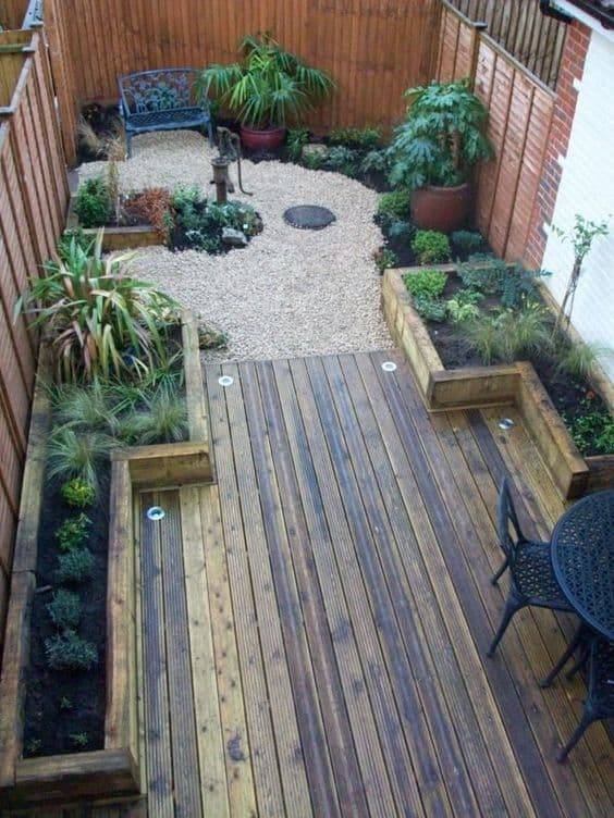 44 Small Backyard Landscape Designs to Make Yours Perfect on Backyard Yard Design  id=28679