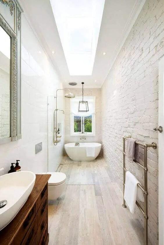 39 Galley Bathroom Layout Ideas to Consider on Great Bathroom Ideas  id=12227