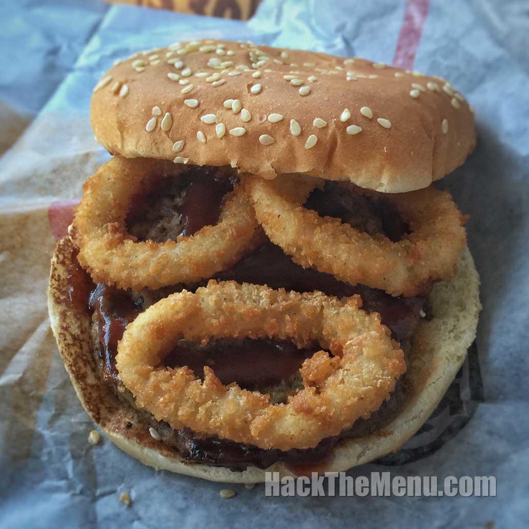 Rodeo Burger Burger King Secret Menu Hackthemenu