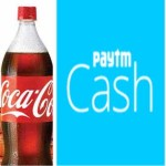 Free Paytm Cash Upto Rs.20 on Coke and Sprite