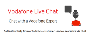 vodafone live online chat with customer care executive online