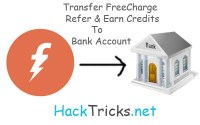 freecharge refer n earn creditsto bank