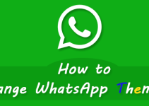 Change WhatsApp Themes