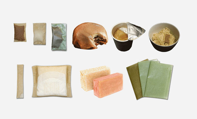 Seaweed-Based Packaging 食べられる紙