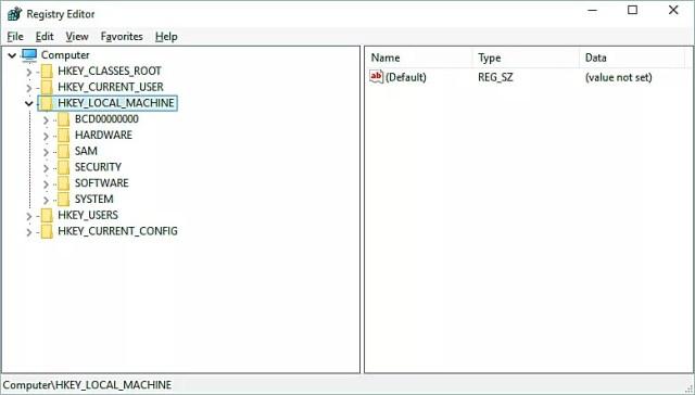 Análisis del registro de Windows 1