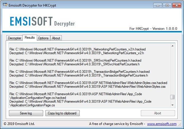 Descifrador para Ransomware