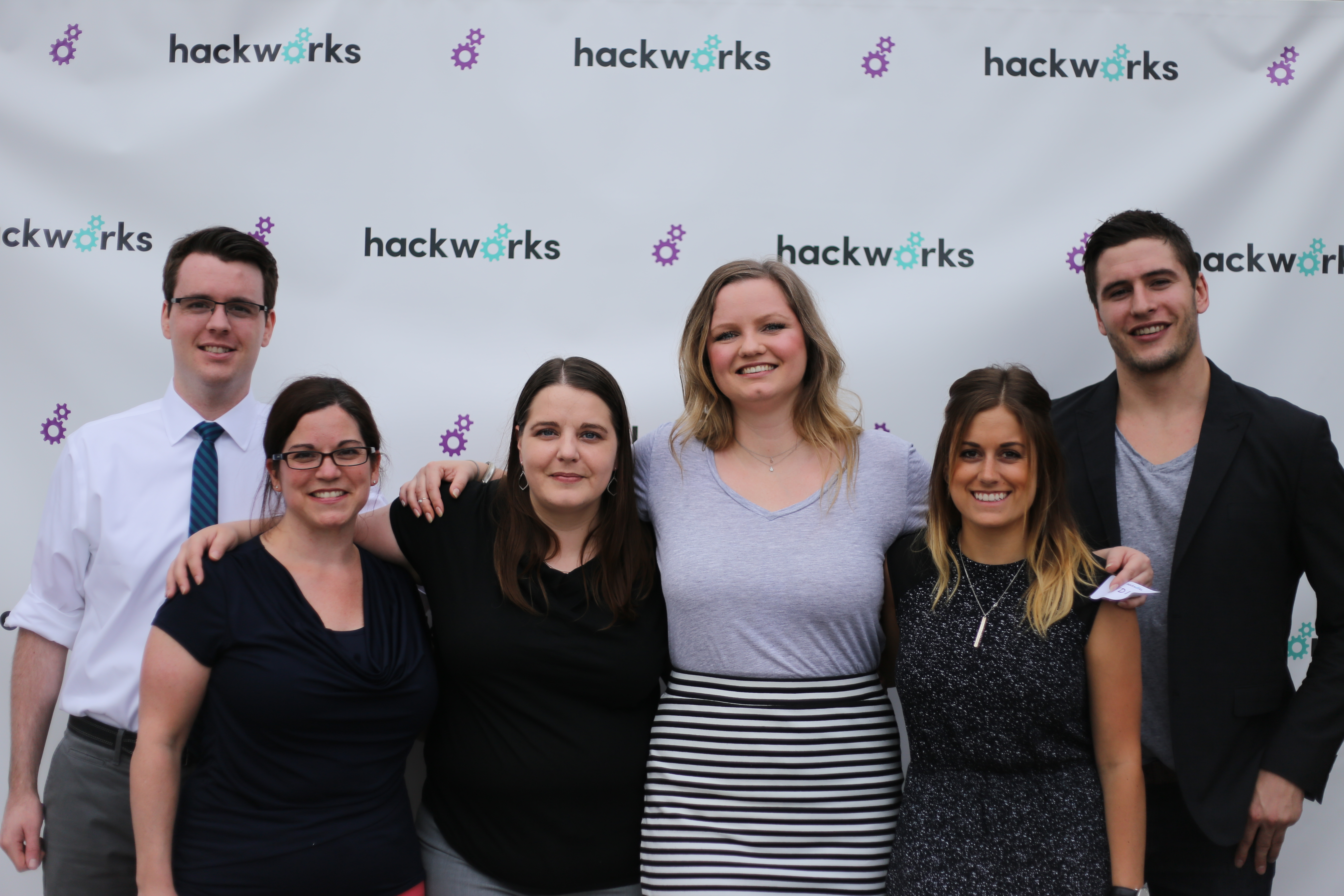 Employees at Hackworks