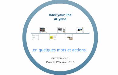 HackYourPhd : en quelques mots et quelques actions