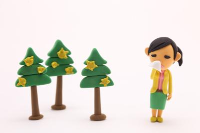 春に肌荒れする原因「花粉症皮膚炎」の対策