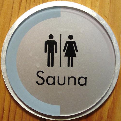 german sauna nude