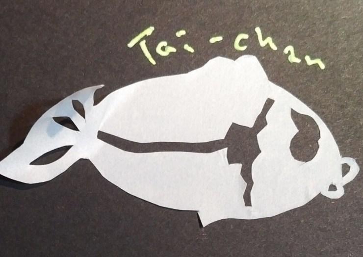 マステの鯛ちゃん