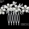 Pearl Bridal Hair Comb