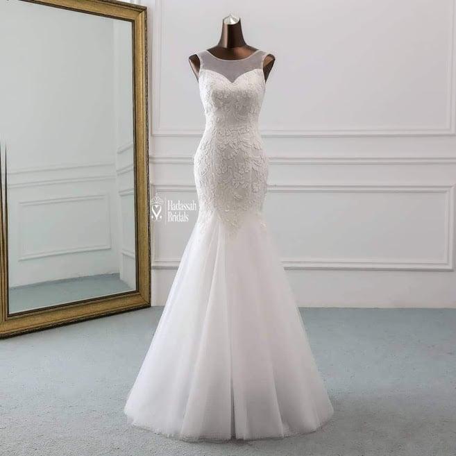 Where To Buy Wedding Gown: Buy Mermaid Wedding Gown In Lagos
