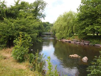 Afon Ogwr, Pen-y-bont