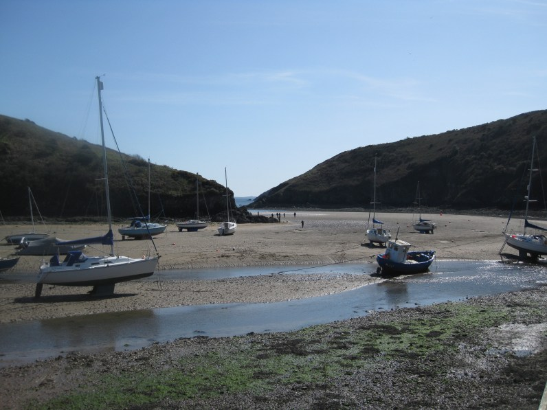 Solva at low tide