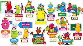 monsters bulletin board
